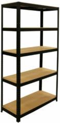 Erro Storage Opbergrek - 90 cm breed - 875 kg draagkracht - Monteren zonder schroeven - Zwart