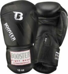 Booster fight gear Booster (kick)bokshandschoenen Foil V3 Zwart 14oz