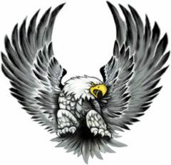 Grijze AutoStyle Stickerset Eagles - 2x 15x14,5cm