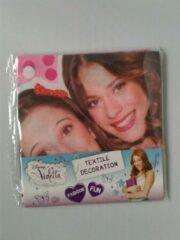 Roze Disney Violetta - Bandana 53 x 53 cm