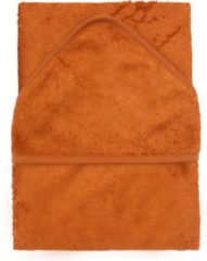 Oranje Timboo XL badcape - Inca Rust