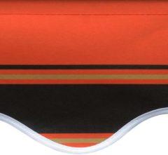 VidaXL Luifeldoek 600x300 cm canvas oranje en bruin VDXL 145727