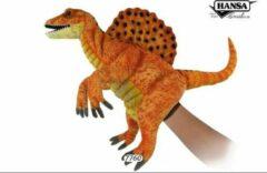 Oranje Hansa Creation Spinosaurus handpop goudgeel 7760 lxbxh = 42x18x35cm