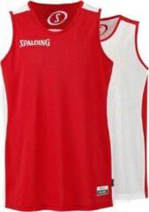 Spalding Essential Rev. Shirt Unisex - Groen / Wit - maat XS