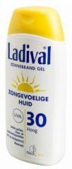Ladival Zongevoelige huid Zonnebrand Gel SPF30 200 ml