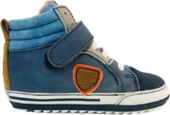 Blauwe Shoesme Veterschoenen baby proof