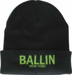 Ballin Est. 2013 unisex muts zwart groen geborduurd
