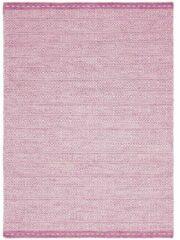 Eazy Living Easy Living - Knox-Pink Vloerkleed - 160x230 cm - Rechthoekig - Laagpolig Tapijt - Retro - Roze, Wit