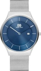 Zilveren Danish Design watches edelstalen herenhorloge Långeland Blue Large IQ68Q1259
