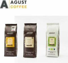 Proefpakket 250g bonen, Caffè Agust Gentile, Kafequo en Natura Equa