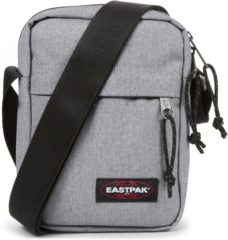 Grijze Eastpak The One Schoudertas - 2.5 liter - Sunday Grey