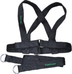 Tunturi Trekharnas X-shape Pull Harness For Sled Zwart