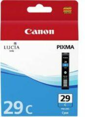 Canon inktcartridge cyaan pgi29c - 1940 pagina\'s - 4873b001