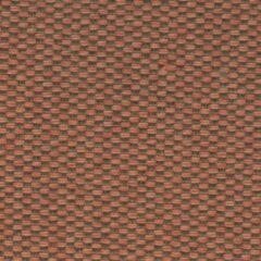 Agora Bruma Teja 1012 bruin, oranje stof per meter, buitenstof, tuinkussens, palletkussens