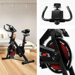 Rode Evolution FIT Hometrainer - Spinning Fiets - Indoor Bike Workout - Thuis Fitness - Cardio