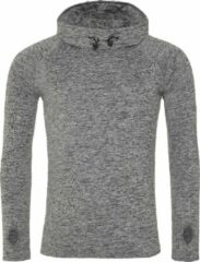 AWDis Gewoon Cool Mens Cowl Neck Long Sleeve Baselayer Top (Grijze Melange)
