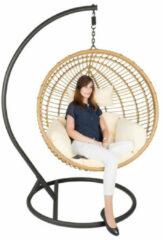 Bruine Luxurybrand Hangstoel cocoon XL home inclusief kussens