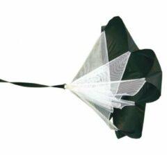 Vinex - Premium Sprint Parachute - incl. tailleriem en draagtas - Zwart/Wit