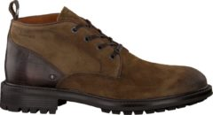 Grotesque | Triplex 5-a taupe suede vt boot - dk brown sole | Maat: 45