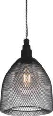 Zwarte Luxform Tuinlantaarn Salsa hangend solar LED