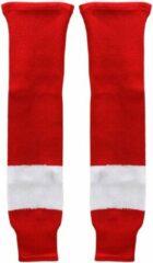Sherwood IJshockey sokken Detroit Redwings rood/wit Bambini