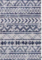 JYG OUTLET JYG Vloerkleed Milaan 120x170 - Blauw - Wit