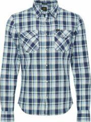 Marineblauwe Lee overhemd clean western Navy-s