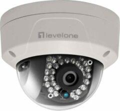 Witte Level One LevelOne FCS-3087 IP-beveiligingscamera Binnen & buiten Dome Plafond/muur 2560 x 1920 Pixels
