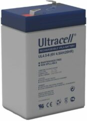 Witte Ultracell UL VRLA Loodaccu 6V 4.5Ah - 4Ah - 3FM4.5 - UL4.5-6