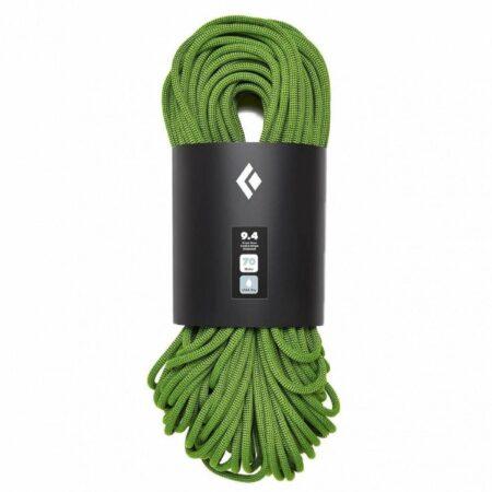 Afbeelding van Black Diamond - 9.4 Rope Dry - Enkeltouw maat 60 m, olijfgroen/zwart/groen