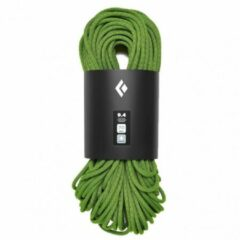 Black Diamond - 9.4 Rope Dry - Enkeltouw maat 60 m, olijfgroen/zwart/groen