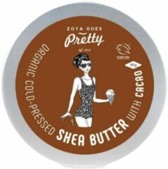 Zoya Goes Pretty Organic Cold Pressed Shea Butter met Cacao - 90 gram