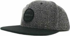 Panda Pet Zwart - Snapback Caps - Zwarte Cap van Wakefield Headwear - Petten