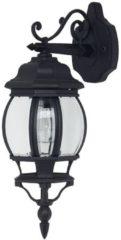 Brilliant ISTRIA Wandlamp 1x60W Zwart IP23 48682/06