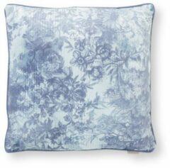 Lichtblauwe Essenza Aurelie sierkussen 50 x 50 cm