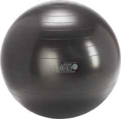 Gymnic Plus 75 BRQ - Zitbal en fitnessbal - Zwart - Ø 75 cm