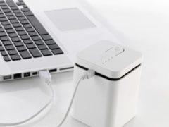 Witte STYLIES Elara White universele Aroma diffuser voor thuis of op kantoor ook draadloos