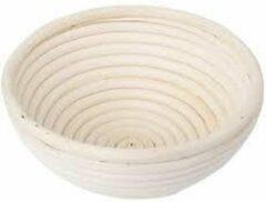 Witte Redecker Rijsmandje rond 20 cm
