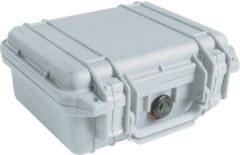Peli Case - Camerakoffer - 1200 - Zilver excl. plukschuim 23,50 x 18,10 x 10,50 cm (BxDxH)