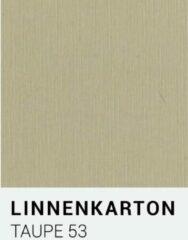 Linnenkarton notrakkarton Linnenkarton 53 Taupe 30,5x30,5cm 240 gr.