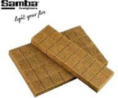 Samba Aanmaakblokjes Bruin (768 Stuks) bbq