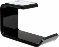 Zwarte WISEQ Headset Houder - Koptelefoon Houder - Zelfklevend, monteren zonder boormachine - Geschikt voor bureau, tafel, gaming controller en gamepad