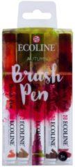 Koninklijke Talens B.V Talens Ecoline 5 brush pens ''Autumn''