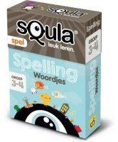 Identity Games Squla Kaartspel - Spelling woordjes - Groep 3 en 4