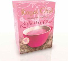 Royal Chai Royalchai Kashmiri pink tea, ongezoet. Per 4 doosjes (a 10 sachets)