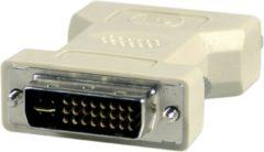 Deltaco B.V DELTACO DVI-20, DVI 29 pins adapter, DVI male naar DVI male, Grijs