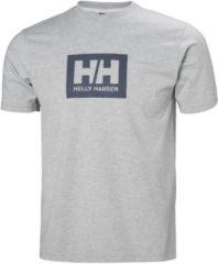 Grijze Helly Hansen Helly Hansen Tokyo T-shirt 53285-001 Heren T-shirt Maat S