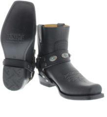 Zwarte Sendra 11070 Sprinter Negro Bras Boots western-boots
