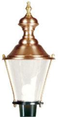 Ks Nostalgische, ronde lantaarn lamp 5504 - Hoorn M29 Optie: Kap Koper Kleur: Donkergroen - Outlet