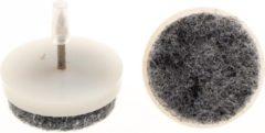 Verlofix Viltnagel Diameter 24mm Nylon Wit 16 Stuks